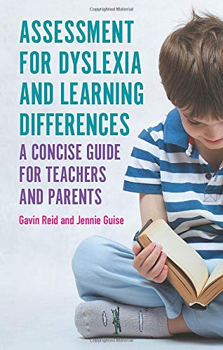 cover image of our new book 'Assessment for Dyslexia and Learning Differences'